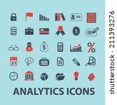 analytics  infographics black... | Shutterstock .eps vector #211393276