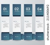 design clean template graphic... | Shutterstock .eps vector #211400692