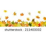 horizontal seamless pattern of...   Shutterstock .eps vector #211403332