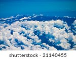 mountains covered with snow  ... | Shutterstock . vector #21140455