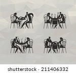 restaurant. vector format | Shutterstock .eps vector #211406332