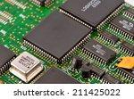 electronic circuit board as an... | Shutterstock . vector #211425022