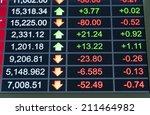 market analyze with digital... | Shutterstock . vector #211464982