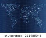 illustration of world... | Shutterstock .eps vector #211485046