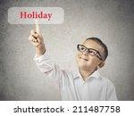 closeup portrait happy  smiling ... | Shutterstock . vector #211487758