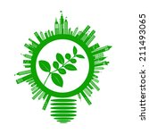 ecology concepts design on... | Shutterstock .eps vector #211493065