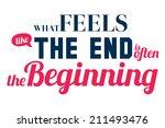 set of unusual inspirational...   Shutterstock .eps vector #211493476