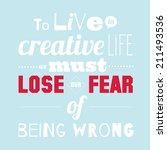 set of unusual inspirational... | Shutterstock .eps vector #211493536