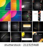 set advertising posters | Shutterstock .eps vector #211525468