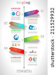 social media and cloud concept... | Shutterstock .eps vector #211529932