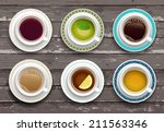 vector illustration. set of... | Shutterstock .eps vector #211563346