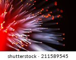 optical fibres dinamic flying...   Shutterstock . vector #211589545