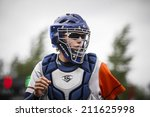 world championship softball in... | Shutterstock . vector #211625998