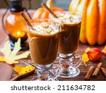 Pumpkin Spice Coffee With...