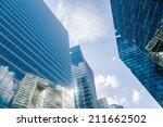 paris   august 05  skyscraper... | Shutterstock . vector #211662502