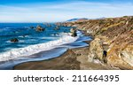 California Seascape With...