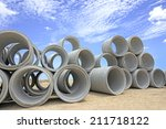 Drainage Pipes  Concrete