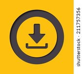 download icon. upload button.... | Shutterstock .eps vector #211757356