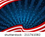 fourth of july background... | Shutterstock .eps vector #211761082