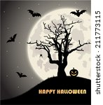 halloween background | Shutterstock .eps vector #211773115