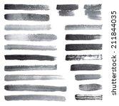 watercolor brush strokes | Shutterstock .eps vector #211844035