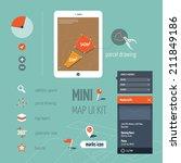 interactive map application...