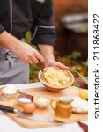 chef at work | Shutterstock . vector #211868422