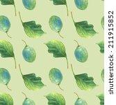 plum  seamless pattern...   Shutterstock . vector #211915852