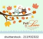 fall in love | Shutterstock .eps vector #211932322