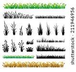 grass vector | Shutterstock .eps vector #211946956