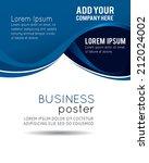 professional business design... | Shutterstock .eps vector #212024002