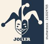 joker symbol | Shutterstock .eps vector #212029705