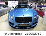 bangkok   august 19  bentley... | Shutterstock . vector #212062762