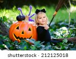 Little Girl In Halloween...