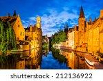 Bruges  Belgium. Image With...