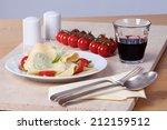 basil noodles | Shutterstock . vector #212159512