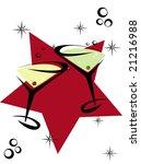 cocktail celebrations   Shutterstock .eps vector #21216988