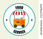food design over beige... | Shutterstock .eps vector #212196655