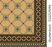 seamless pattern for carpet ... | Shutterstock .eps vector #212215096