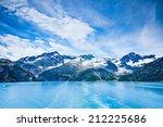 glacier bay in mountains in... | Shutterstock . vector #212225686
