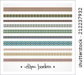 border decoration elements... | Shutterstock .eps vector #212237932