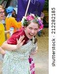 muskogee  ok   may 24  women... | Shutterstock . vector #212282185