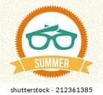 summer design over white ...   Shutterstock .eps vector #212361385