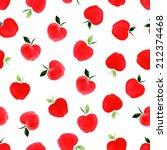 watercolor seamless pattern...   Shutterstock .eps vector #212374468