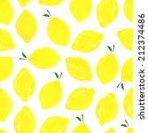 watercolor seamless pattern...   Shutterstock .eps vector #212374486
