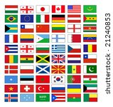 vector flags | Shutterstock .eps vector #21240853