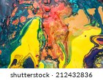 colorful of primary colors mix  ... | Shutterstock . vector #212432836