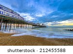 Eastbourne Pier And Beach At...