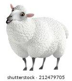 white sheep | Shutterstock . vector #212479705