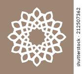 vector abstract circular... | Shutterstock .eps vector #212507362